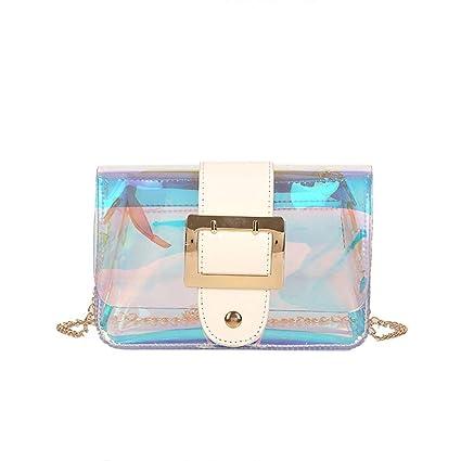 a2acd7830170 Amazon.com | Sameno Clear Bag ✿ Womens Transparent Makeup Bag ...