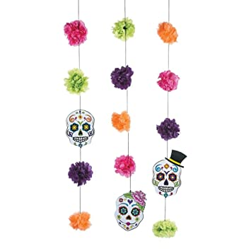 Amazon Day Of The Dead Hanging Garland Health Personal Care
