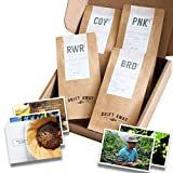 Driftaway Coffee Coffee Sampler, Whole Beans, Perfect Coffee Gift (0.5 Pound)