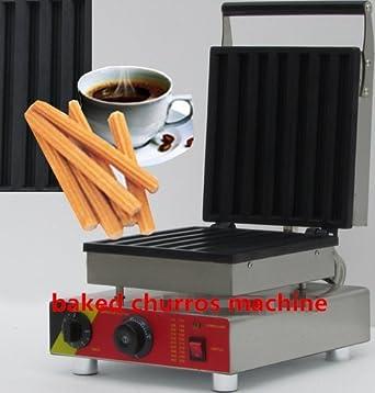 Comercial Eléctrico Baked Churros máquina Churros Panificadora no-stick Churros eléctrica Ce certificación 220 V - 240 V: Amazon.es: Industria, ...