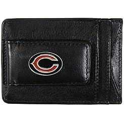 Siskiyou NFL Leather Money Clip Cardhold...