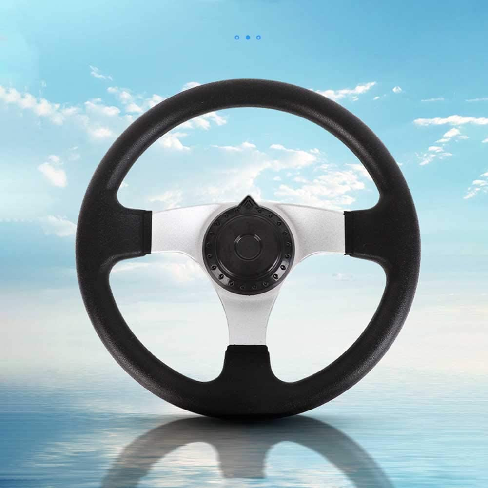 3 Spokes 270mm Off-Road Kart Steering Wheel for Electric Go Kart Off-Road Scooter Karting Balance Car