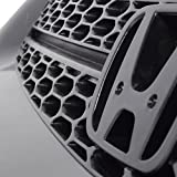 Grille Compatible With 2001-2003 Honda Civic, Type
