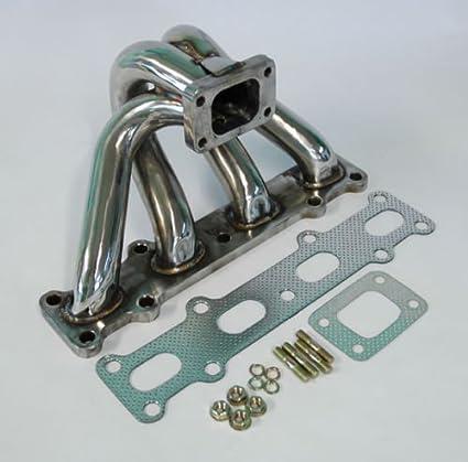 Mazda Miata MX5 Eunos 94-05 1.8L DOHC T25 T28 Turbo Exhaust Manifold Stainless