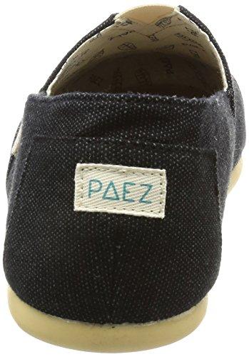 Paez Men's Original-Combi Espadrilles, Beige Black (Black 001)
