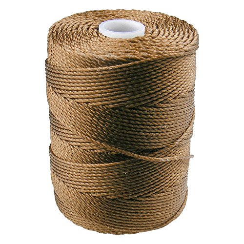 C-LON Bead Cord, Bronze - 0.5mm, 92 Yard Spool