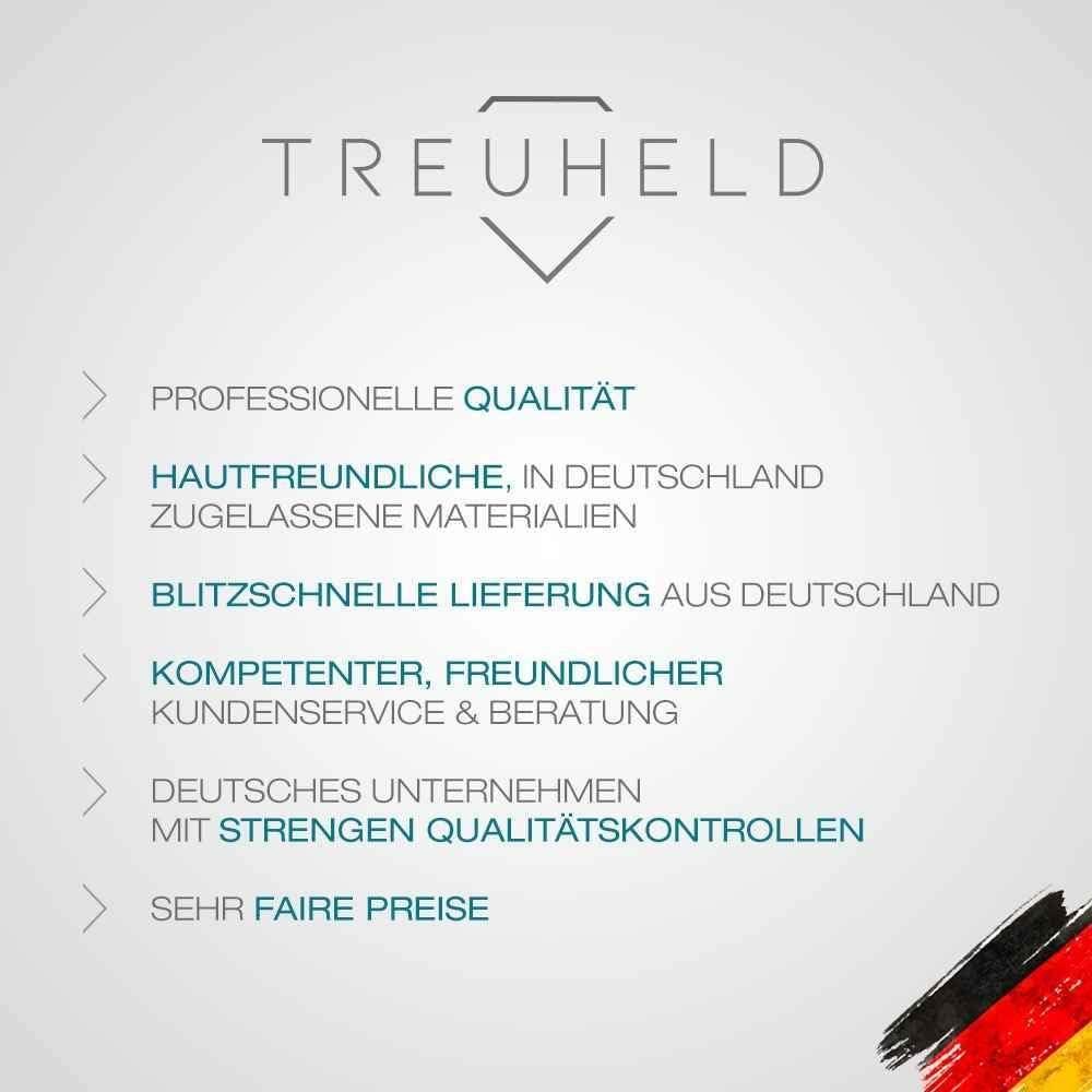 6 Couleurs Treuheld/® Boucles doreilles cr/éoles Rondes en Acier Inoxydable