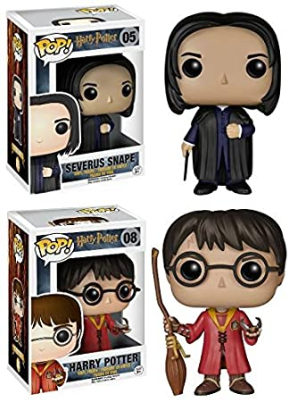 Harry Potter: Severus Snape + Harry Potter (Quidditch) - Vinyl