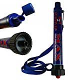 H2O Survival Water Filter Travel Straw MAX, 530 Gallons