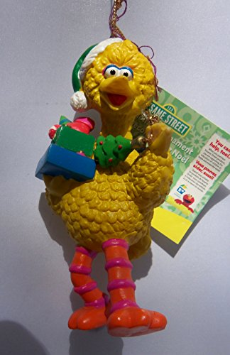 Sesame Street Big Bird with Gifts Christmas Ornament