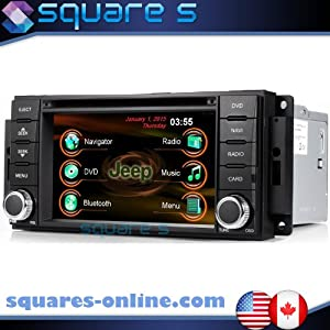 2011 2012 2013 2014 JEEP WRANGLER In-dash GPS Navigation Radio AV Receiver SD USB CD DVD Player iPod/iPhone-ready Bluetooth Hands-free Touch Screen Steering Wheel Controls Multimedia Stereo Audio Video Deck w/ Digital TV Rear View Camera Option SQUARE-S SS-MMR44H SS-ZNZ44L