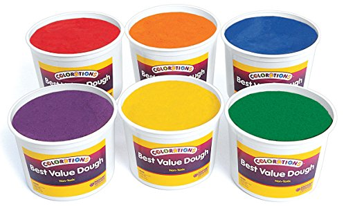 Colorations Classic Colors Best Value Dough - 18 lbs. (Item # BVRD)