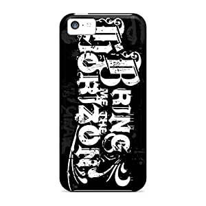 Bumper Hard Phone Cases For Iphone 5c (dtR8696Mjxe) Unique Design Fashion Bring Me The Horizon Band Bmth Pattern