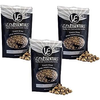 Amazon Com 3 Pack Vital Essentials Freeze Dried Rabbit