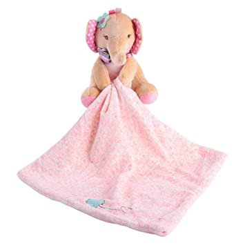 Bear EJY Baby Comforter Towel Soft Plush Animal Appease Towel Toys Gifts for Baby Boys Girls