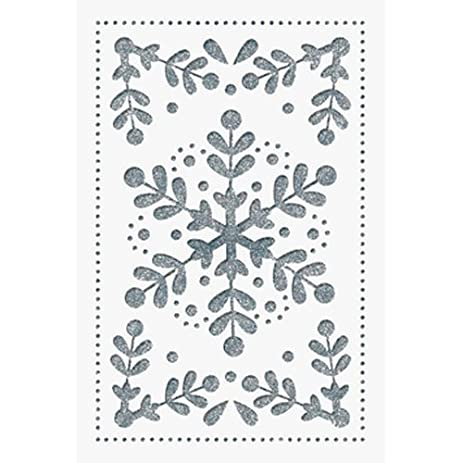 Amazon.com: The Gift Wrap Company Laser Luxury Boxed Holiday Cards ...