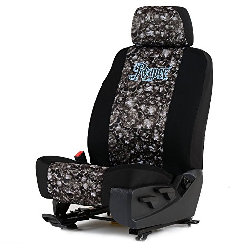 Reaper Black Neoprene Low Back Bucket Seat Cover W/Headrest Cover