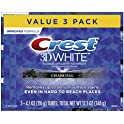 Crest 3D White 3 Count of 4.1 oz Charcoal Whitening Toothpaste