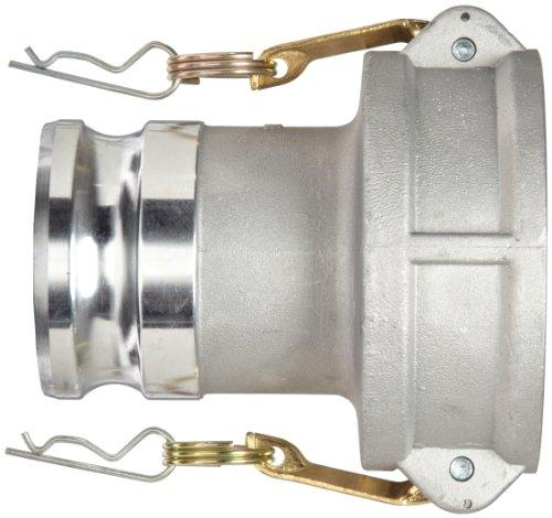 Dixon G4030-DA-AL Aluminum Global Jump Size Cam and Groove Hose Fitting, 4'' Socket x 3'' Plug by Dixon Valve & Coupling (Image #1)