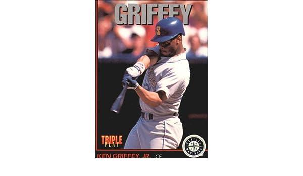 388d2da09b Amazon.com: 1993 Triple Play Baseball Card #1 Ken Griffey Jr. Near  Mint/Mint: Collectibles & Fine Art