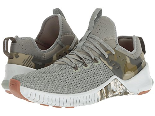Nike Free dark Metcon Canvas 002 Basses light Sneakers Stucco Silver Homme olive Multicolore 66pWwgrq