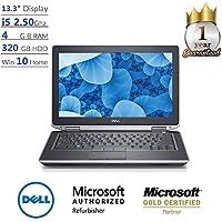 Dell DEE6320R003/MB-DE-E6320-R003/MB-DE-E6320-R003 Latitude E6320 13.3 i5, 4GB, 320GB, Windows 10 Laptop - Recertified