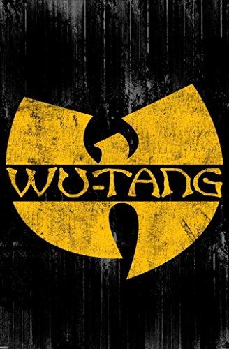 Pyramid America Wu Tang Clan Logo Music Poster 24x36 inch