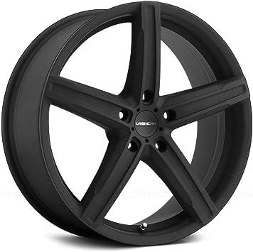 38mm Satin Black Wheel Rim 15 Inch Vision 469 Boost 15x6.5 5x108