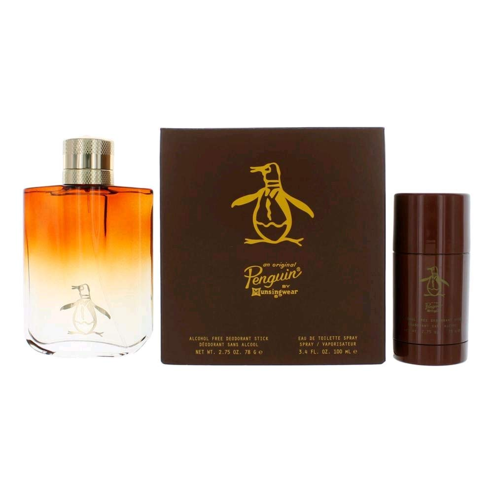 Original Penguin by Munsingwear Gift Set - 3.4 oz Eau De Toilette ...