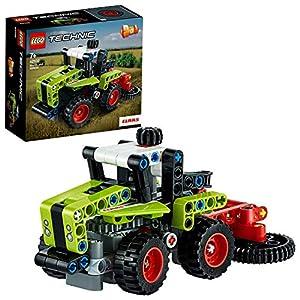 LEGO Technic MiniCLAASXERION, Trattore Trasformabile in Mietitrebbia,Set da Costruzione 2in1,Collezione Veicoli Pesanti, 42102  LEGO