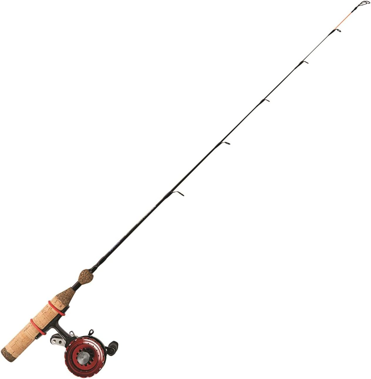 Amazon Com Eagle Claw In Line Panfish Combo Ice Fishing Rod Reel Combos Sports Outdoors