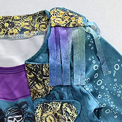 Heariao Halloween Christmas Uma Descendants 3 Cosplay Costumes for Girls Dress Performance Costume: Clothing