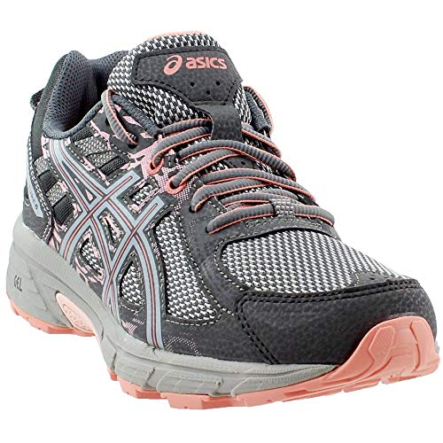 ASICS Gel-Venture 6 Women's Running Shoe, Carbon/Mid Grey/Seashell Pink, 5 M US by ASICS (Image #7)