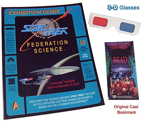 Star Trek Federation Science Museum Exhibition - with 3D Glasses