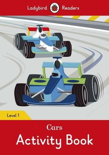 Cars activity book - Ladybird Readers Level 1