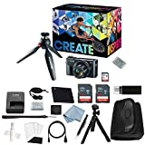 Canon G7x Mark II Video Creator Kit + Canon PowerShot g7 x Mark II Deluxe Accessory Bundle - Including EVERYTHING You Need To Get Started