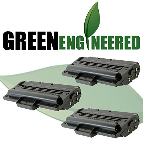 Cartridge Triple Pack (GreenEngineered Samsung SCX-D4200A Compatible Replacement Black Laser Toner Cartridge Triple Pack)