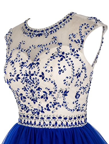 Women' Schwarz Kurz Beaded Ball Fanciest Sleeve Cap Ballkleid Homecoming Kleides Grape Lang Abendkleider qdTdOw