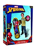 Hedstrom Spider-Man Bop Combo Inflatable Punching Bags and Gloves (3 Piece), Red, 36''
