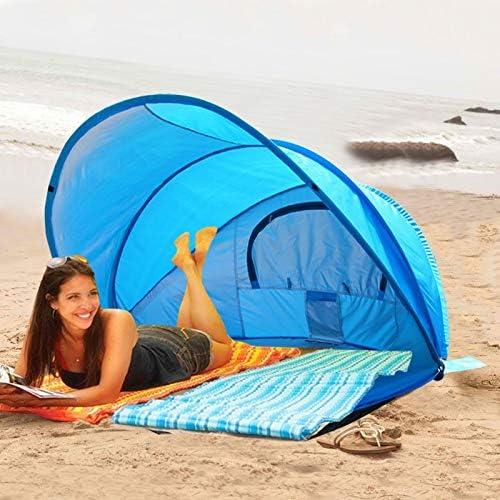 Zcm Pop up tent Pop-up zomer Automatische strandtent 2-3 personen snelheid open snelle opening Camouflage