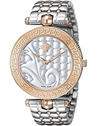 Women s VK7230015 Vanitas Analog Display Swiss Quartz Two-Tone Watch ·  Versace dd90cd240af