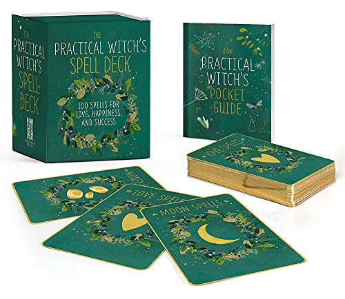The Practical Witch's Spell Deck: 100 Spells for Love, Happiness, and Success (RP Minis) Paperback – September 24, 2019