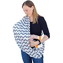 Nursing Scarf Covers Breastfeeding Baby in Public Soft Breathable Mother Privacy