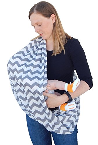 Infinity Nursing Scarf for Breastfeeding Covers Baby Also Breast Pump Cover Up