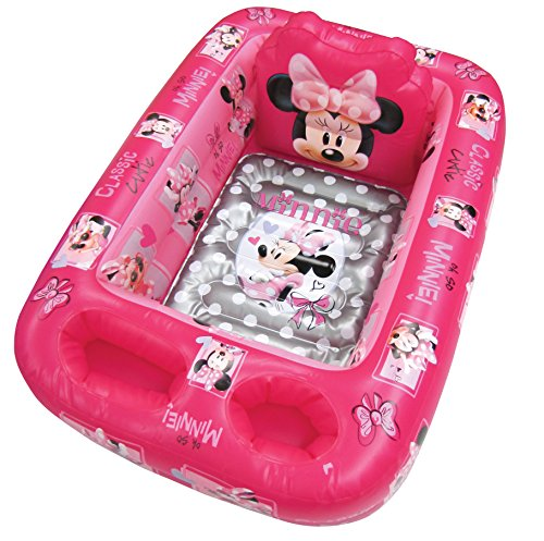 Shower Inflatable (Disney Minnie Mouse Inflatable Safety Bathtub, Pink)