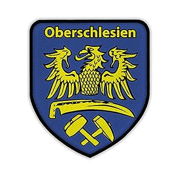 Patch / Aufnäher -Oberschlesien Schlesien Schlesier Adler Wappen ...