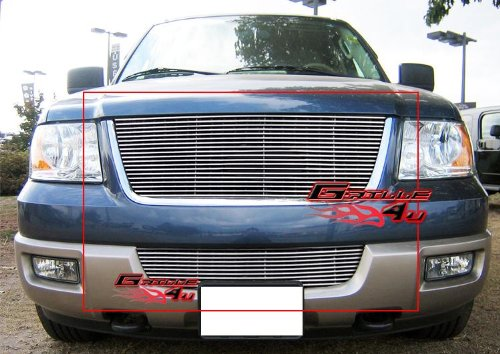 APS Compatible with 2003-2006 Ford Expedition Billet Grille Combo F67847A