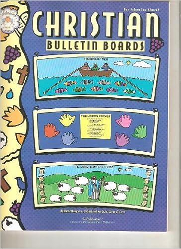 christian bulletin boards harriet kinghorn vickie leigh krudwig