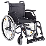 CANEO B SB48 Kombiarml.,PU anthrazit(Dietz), Handbetriebene Standard-Rollstühle Bild