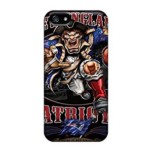 For Ipod Touch 4 Cover Fashion Design New England Patriots Case-aji1548rCGF